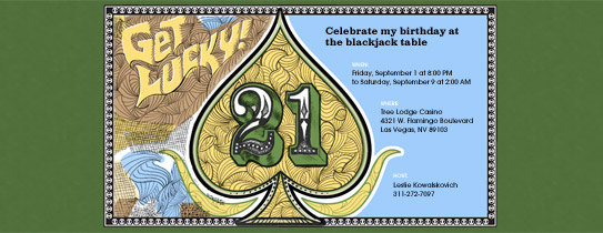 Blackjack Invitation