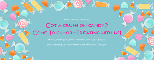 Candy Crush Invitation