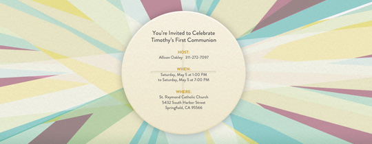 Communion Invitation