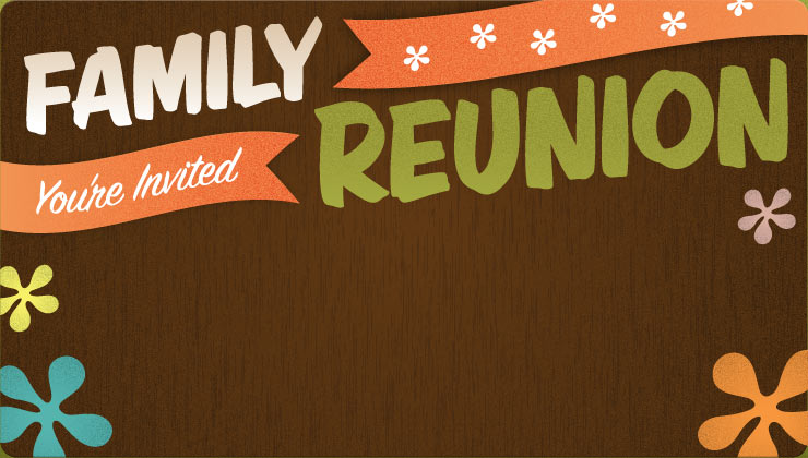 Family Reunion Invitation Borders - Hot Girls Wallpaper