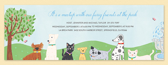 Furry Hangout Invitation