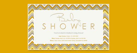baby shower, unisex