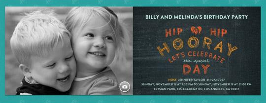 Hip Hip Hooray Invitation