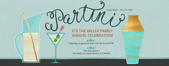cocktails, cocktail party, drinks, party, martini, martini party,