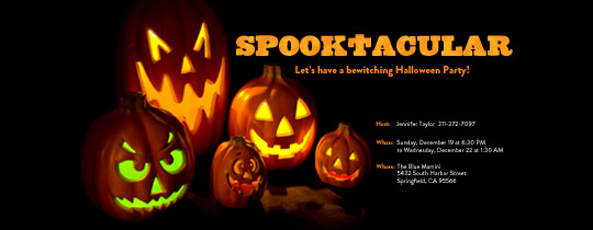 Spooktacular Invitation