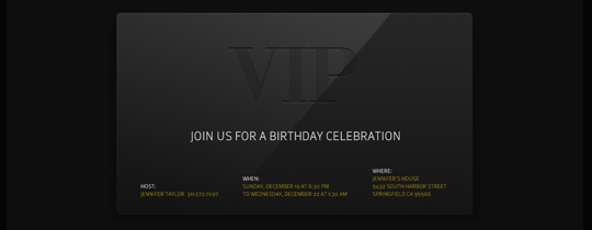 black, formal, vip, 50th, 50th birthday, 30th, 30th birthday, 30, 40, 40th birthday, 50,