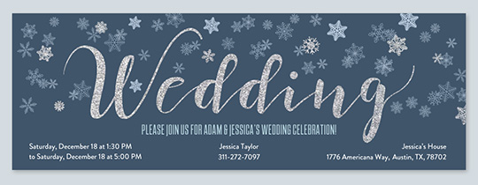 WinterWedding Invitation
