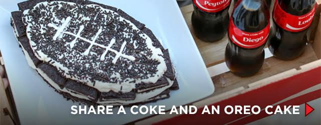 Share a Coke and an OREO Cake