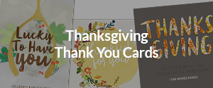 Thanksgiving Thank You Cards
