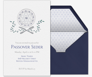 Passover Feastings Invitation