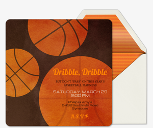 Dribble Dribble Invitation