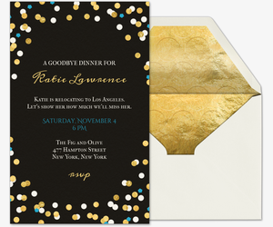new year's eve free online invitations, Party invitations