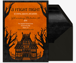Fright Night Invitation