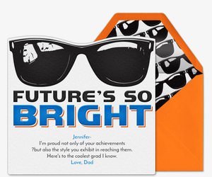 Bright Future Ahead Invitation