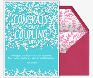 Coupling Up Invitation