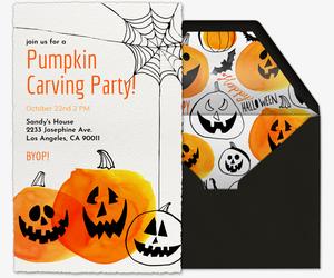 Online halloween invitations for kids evite pumpkins invitation filmwisefo