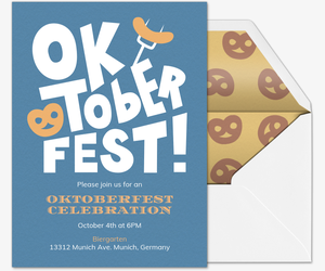 Oktober Beer Fest Invitation
