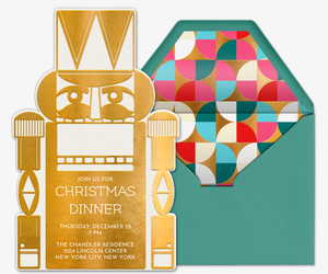 Nutcracker Prince Invitation