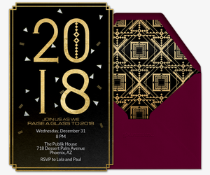 Art Deco 2018 Invitation
