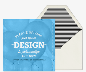 Design Your Own Square Invitation