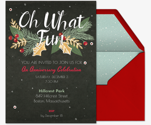 Christmas White Elephant Ugly Sweater Party Invitations Evite - White elephant christmas party invitations templates