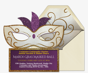 photo relating to Free Printable Mardi Gras Invitations titled Cost-free Mardi Gras Invites Evite