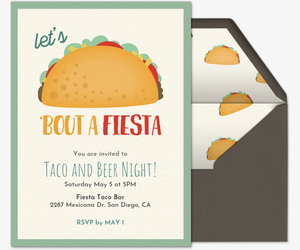 Taco Bout a Fiesta Invitation
