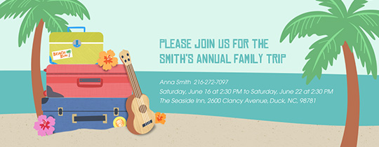 Free Online Beach Party Invitations Evite – Free Summer Party Invitation Templates