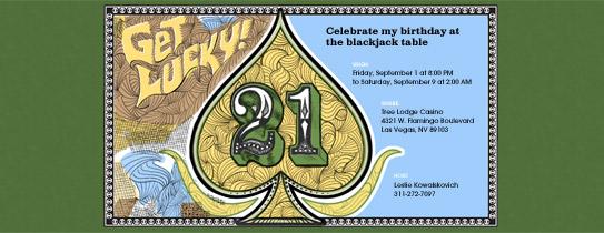 Blackjack Invitation