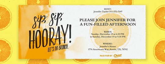 Sip, Sip Hooray! Invitation