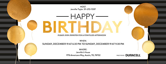 Free Kids Birthday Invitations Online Invites for Children – Digital Birthday Invitations