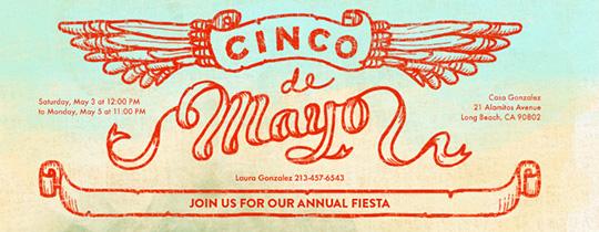 Desert Fiesta Invitation
