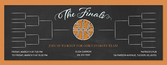 Finals Bracket Invitation