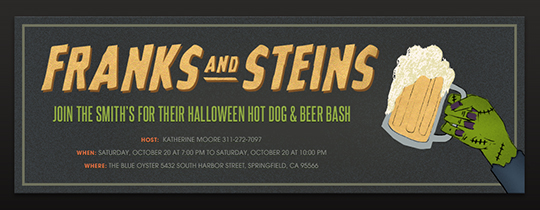 Frank and Steins Invitation