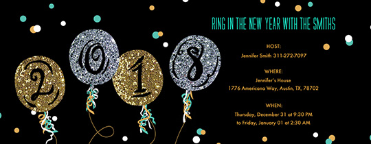 Invitations Free ECards And Party Planning Ideas From Evite - New years eve party invitation templates free