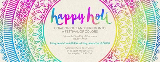 Holi free online invitations happy holi invitation stopboris Choice Image