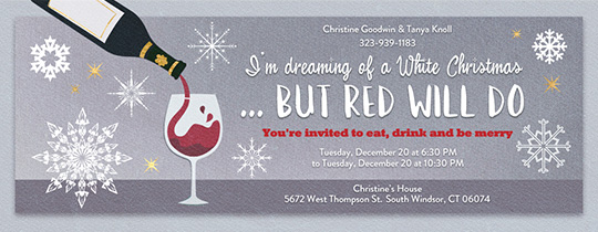 make christmas invitations online free