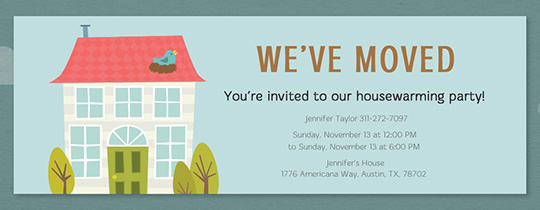 Housewarming Party Invitations – Free Housewarming Party Invitations