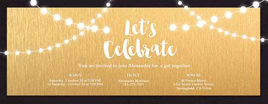 Corporate Holiday Party Invite with great invitation template