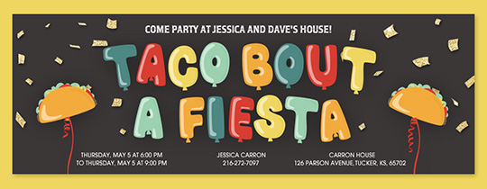 Cinco de Mayo free online invitations Evite – Online Party Invitations Free