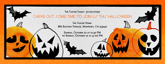 This Is Halloween Invitation