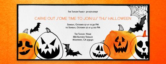 This Is Halloween Invitation